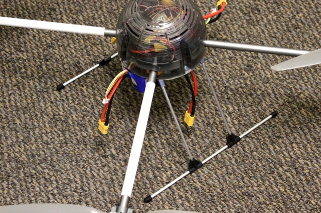 Quadcopter with New Skids
