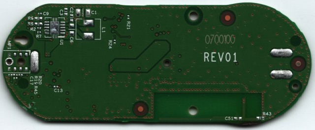Back of PCB (without Components)